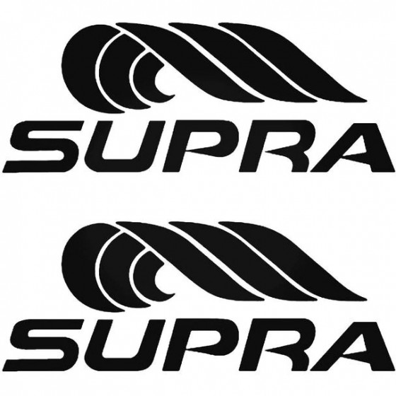 Supra S Boat Kit Decal Sticker