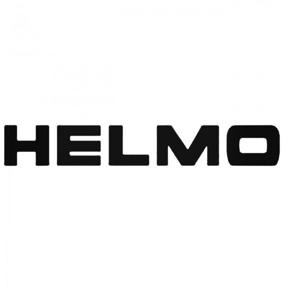 Helmo Decal Sticker