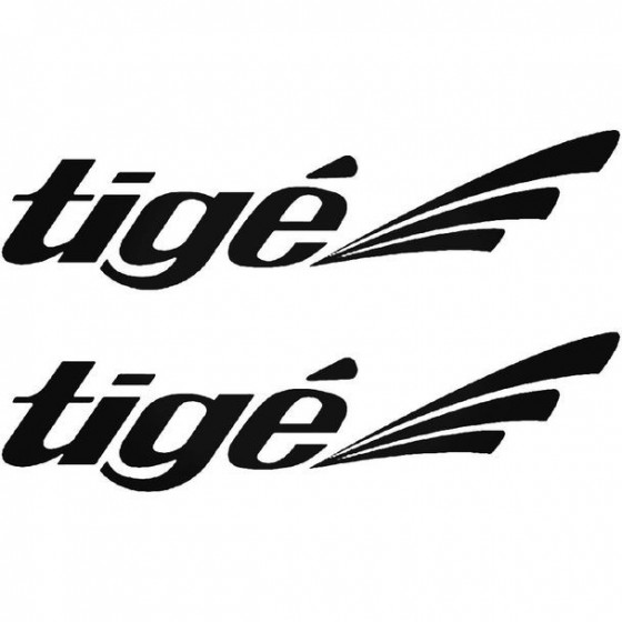 Tige S Boat Kit Decal Sticker