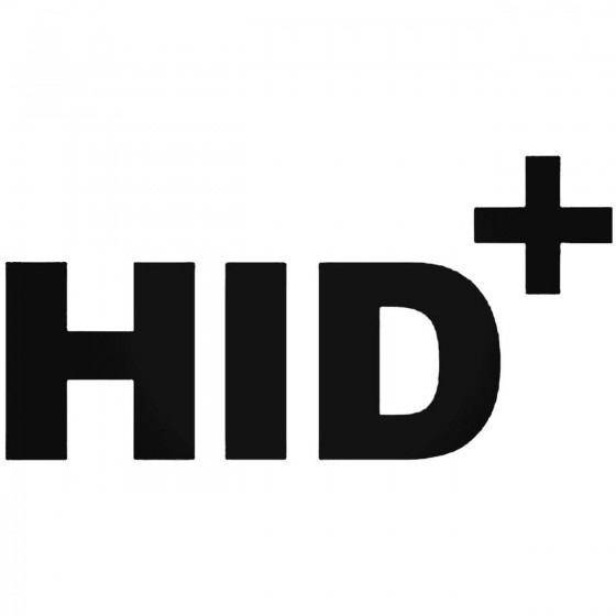 Hid Plus Jdm Decal Sticker