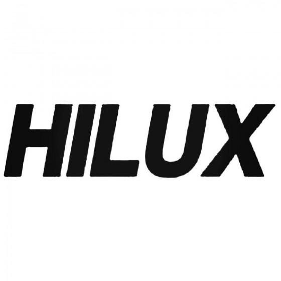 Hilux Decal Sticker