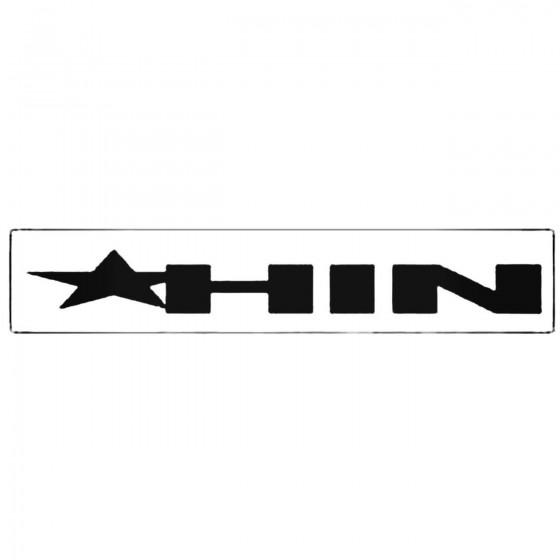 Hin Windshield Decal Sticker