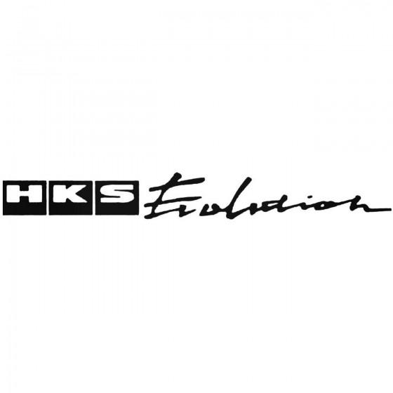 Hks Evolution Graphic Decal...