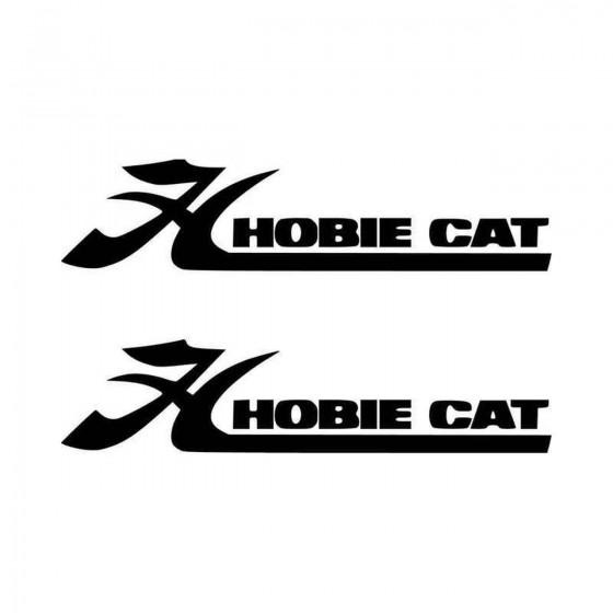 Hobie Cat Boat Logo S Vinyl...