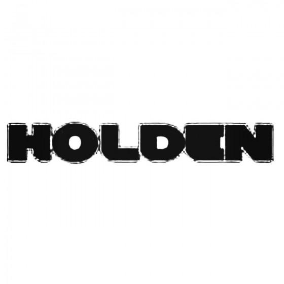 Holden Decal Sticker