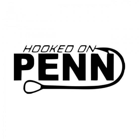 Hooked On Penn Fishing Logo...