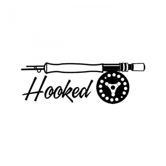 Hooked Reel Fishing Vinyl...