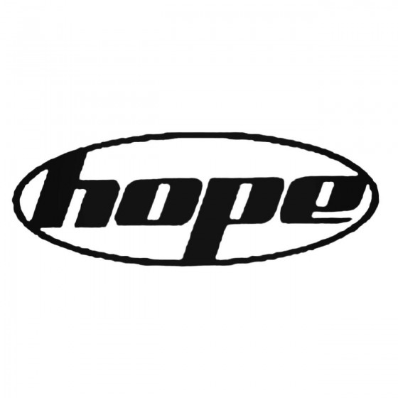 Hope Technology Oval Decal...