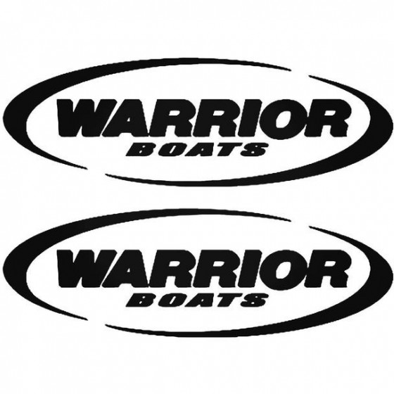 Warrior S Boat Kit Decal...