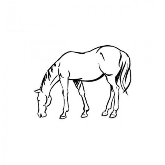 Horse V Decal Sticker