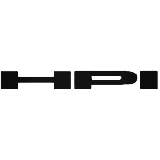 Hpi Racing Vinyl Decal