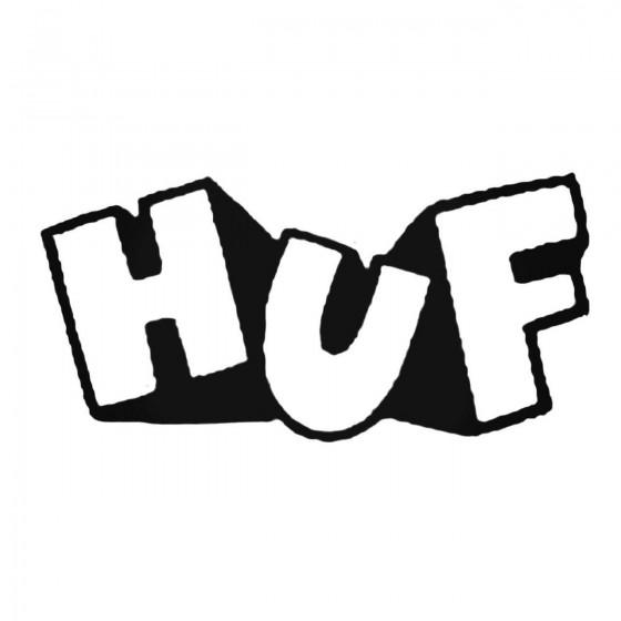 Huf 3d Decal Sticker