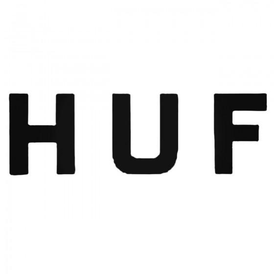 Huf Decal Sticker