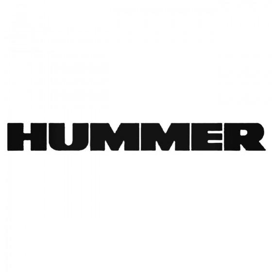 Hummer Aftermarket Decal...