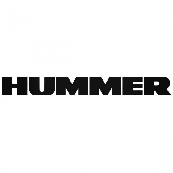 Hummer Graphic Decal Sticker