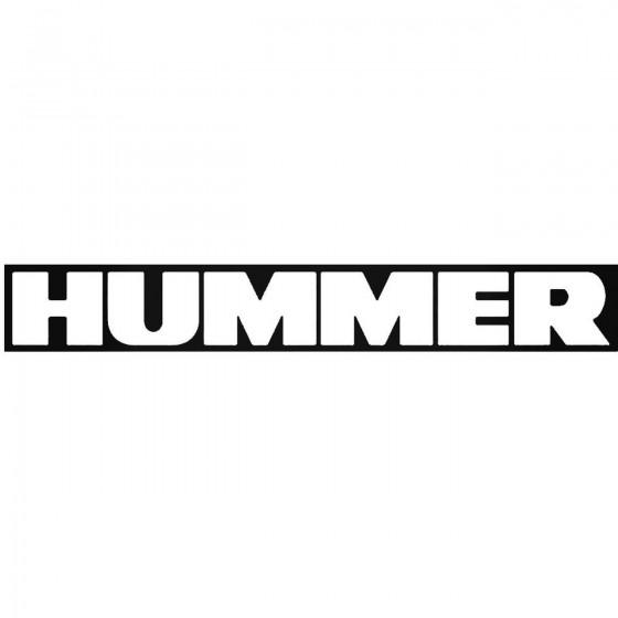 Hummer Windshield Banner...