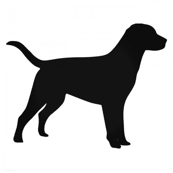 Hunting Dog Stands Decal...
