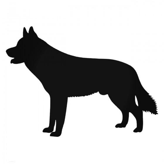 Husky Siberian Dog Decal...