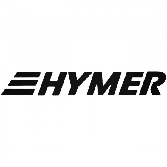 Hymer Decal Sticker