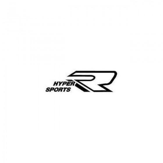 Hyper Sport Decal Sticker