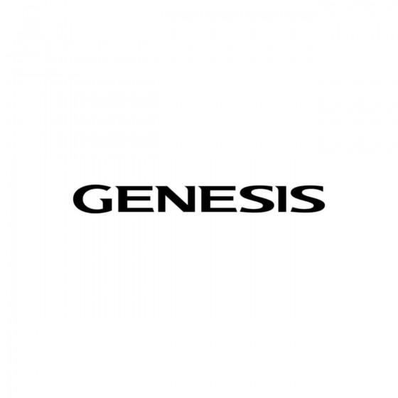 Hyundai Genesis Vinyl Decal...