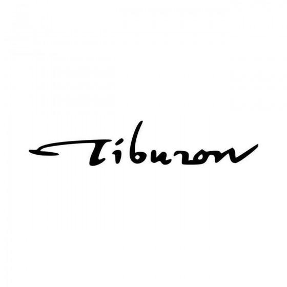 Hyundai Tiburon Set Vinyl...