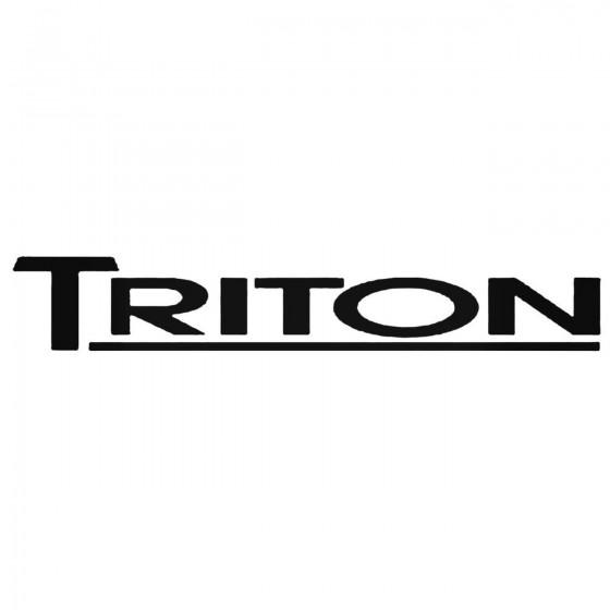 Hyundai Triton Decal Sticker