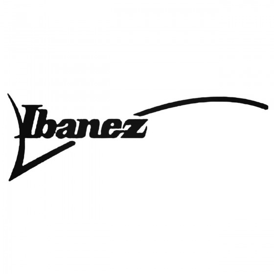 Ibanez Decal Sticker