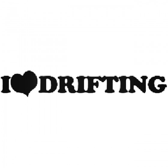 I He Drifting Vinyl Decal...
