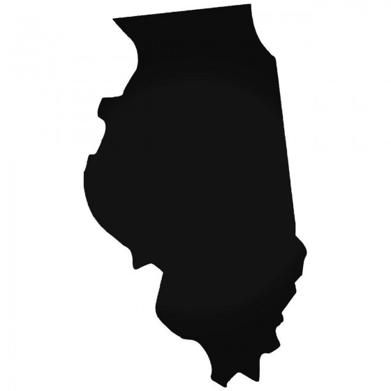 Illinois Home State Decal...