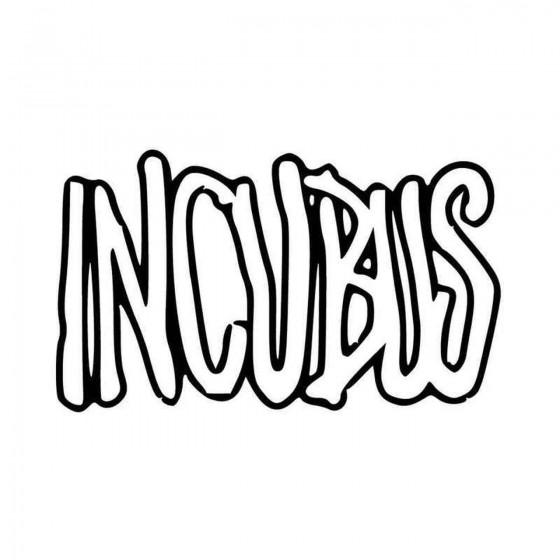 Incubus Vinyl Decal Sticker