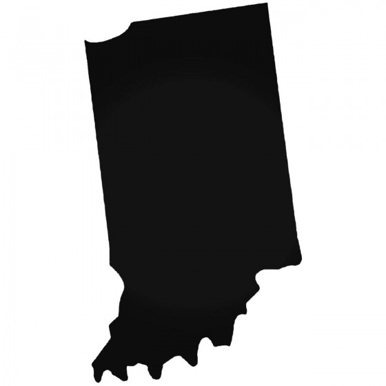 Indiana Home State Decal...