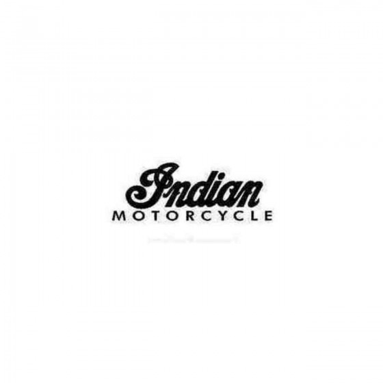Indian Motorcycle Set Decal...