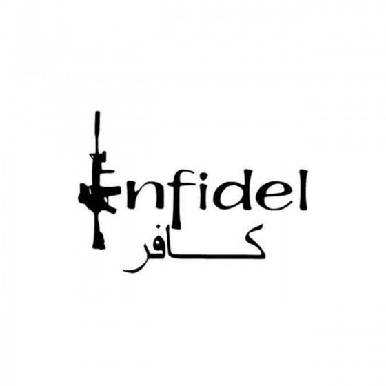 Infidel 73 Decal