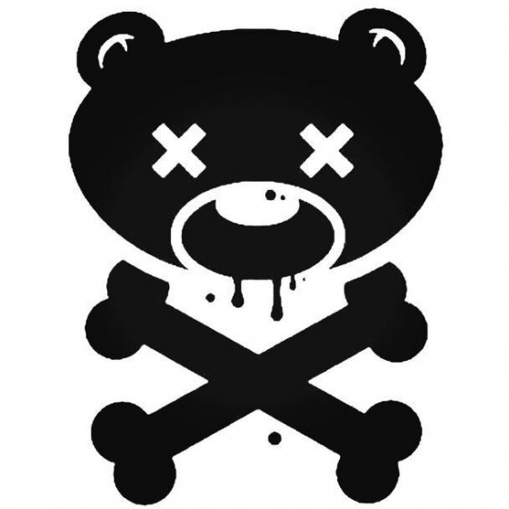 Bear And Crossbones