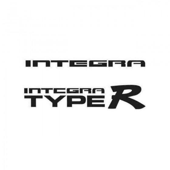 Integrar Graphic Decal Sticker