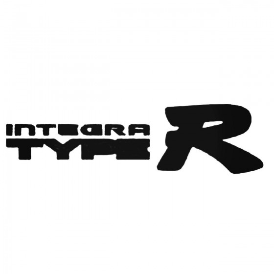 Integra Type R Decal Sticker