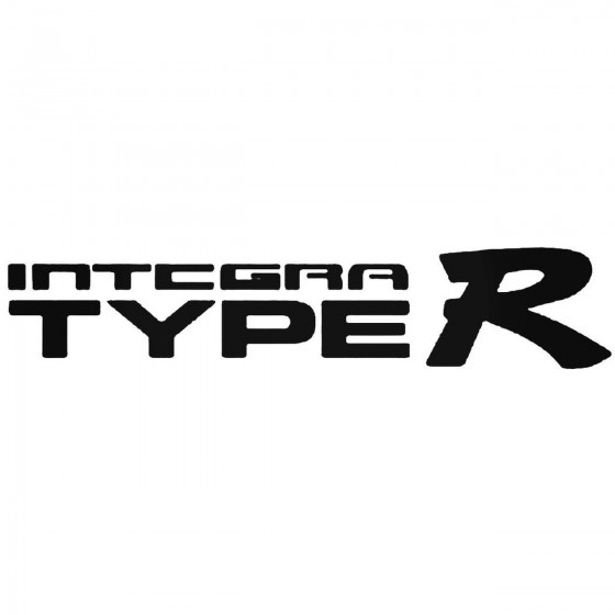 Integra Type R Vinyl Decal...
