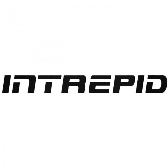 Intrepid Graphic Decal Sticker