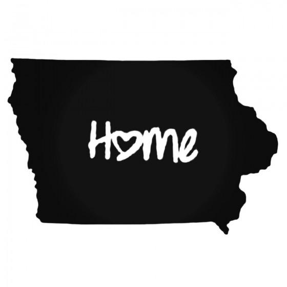Iowa Home Style 2 Decal...