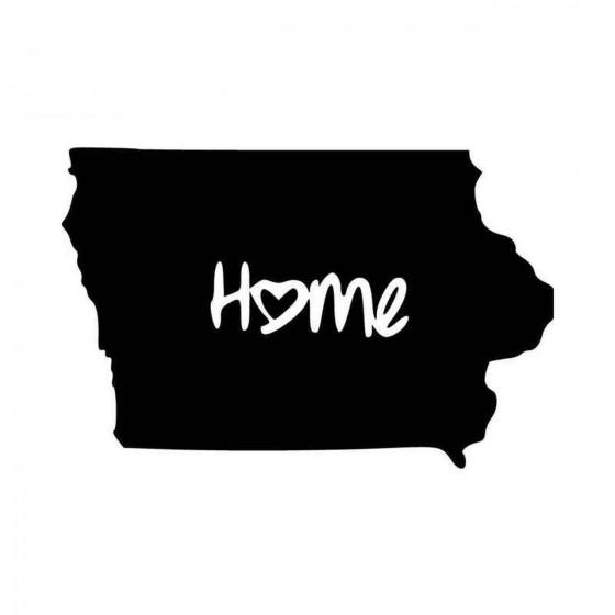 Iowa Home Ver Vinyl Decal...