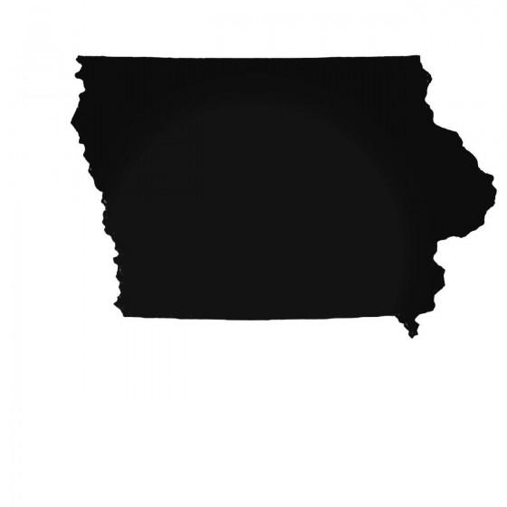 Iowa Ia State Decal Sticker