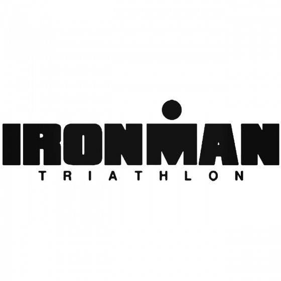 Ironman Triathlon Vinyl...
