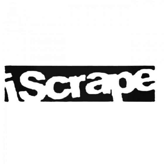 Iscrape Decal Sticker