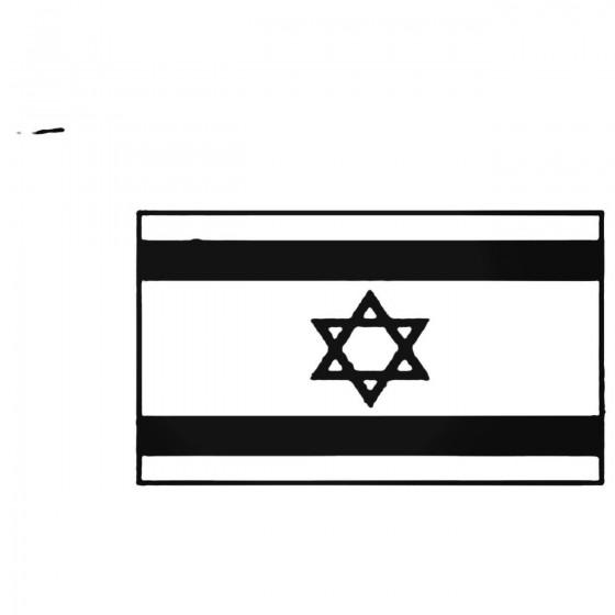 Israel Flag Decal Sticker