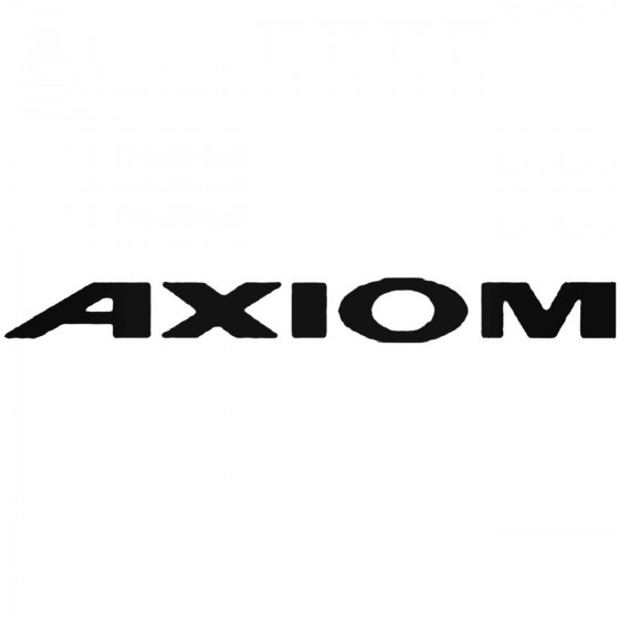 Isuzu Axiom Decal Sticker