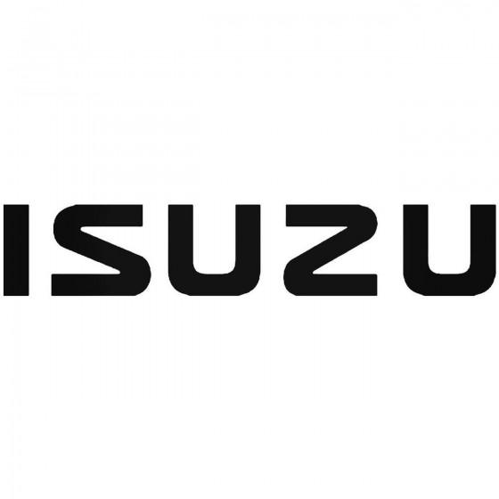 Isuzu Vinyl Decal Sticker 1