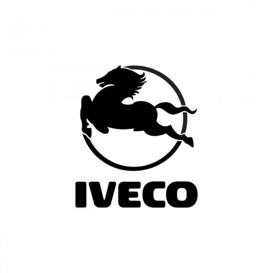 Iveco Logo Vinyl Decal Sticker