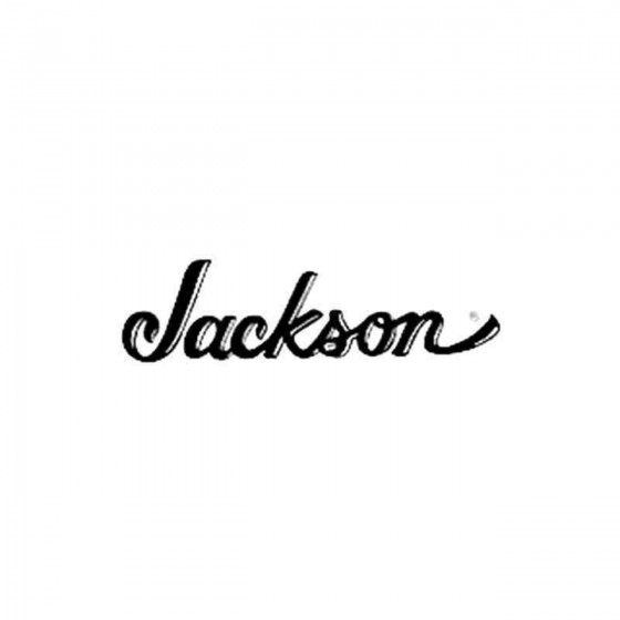 Jackson Vinyl Decal Sticker