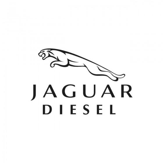 Jaguar Diesel Vinyl Decal...